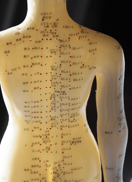 Back Acupuncture Points 2